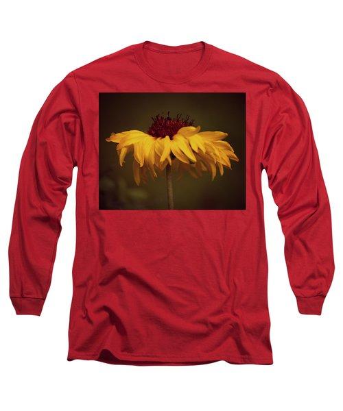 Yellow Flower Long Sleeve T-Shirt