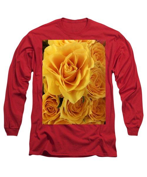 Yellow Joy Long Sleeve T-Shirt