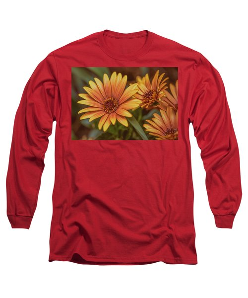 Yellow Petals #g3 Long Sleeve T-Shirt