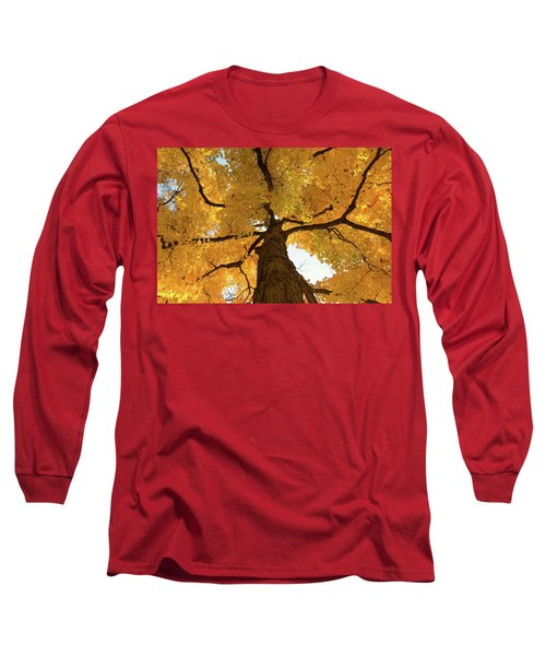 Yellow Up Long Sleeve T-Shirt