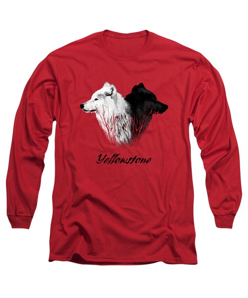Yellowstone Wolves T-shirt Long Sleeve T-Shirt