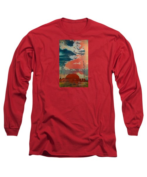 Yin And Yang Long Sleeve T-Shirt by Elizabeth Carr