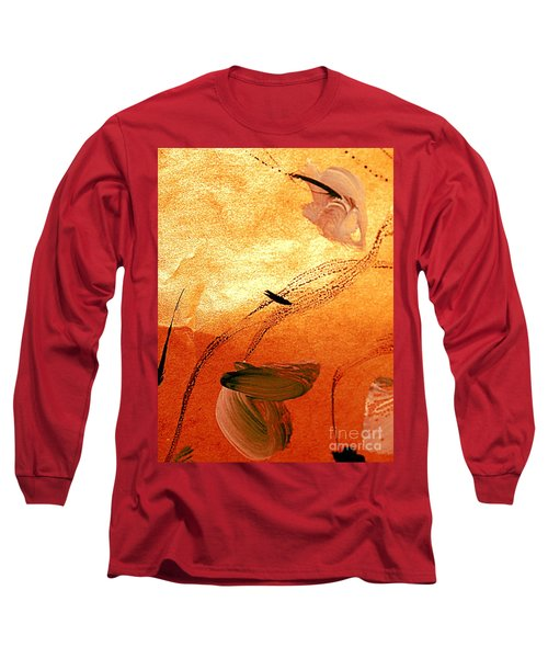 Ying And Yang Flowers Long Sleeve T-Shirt