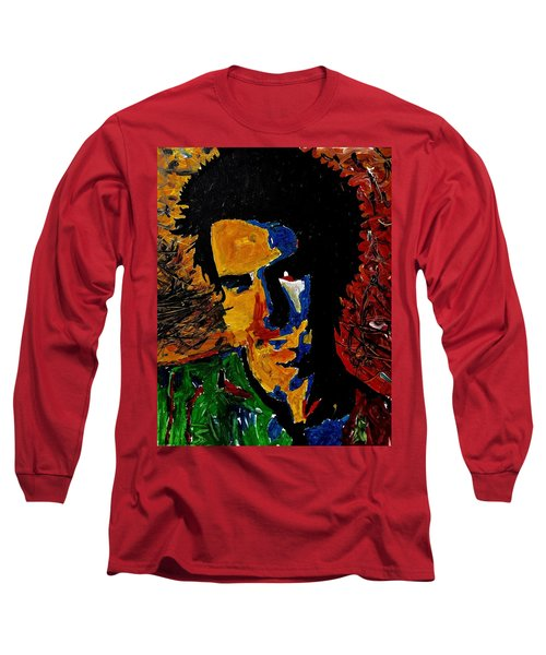 Young Sid Vicious Long Sleeve T-Shirt