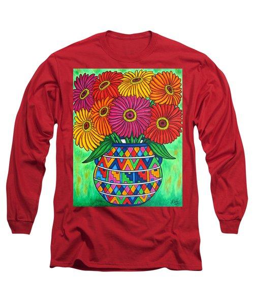 Zinnia Fiesta Long Sleeve T-Shirt