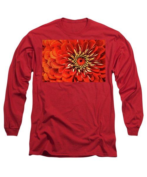 Zinnia-macro Long Sleeve T-Shirt