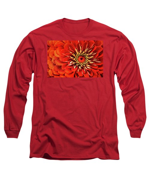 Zinnia-macro Long Sleeve T-Shirt