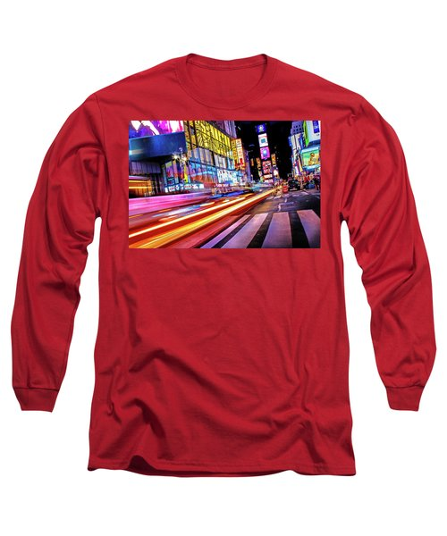 Long Sleeve T-Shirt featuring the photograph Zip by Az Jackson