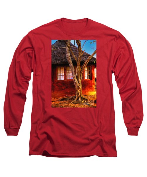 Long Sleeve T-Shirt featuring the photograph Zulu Hut by Rick Bragan