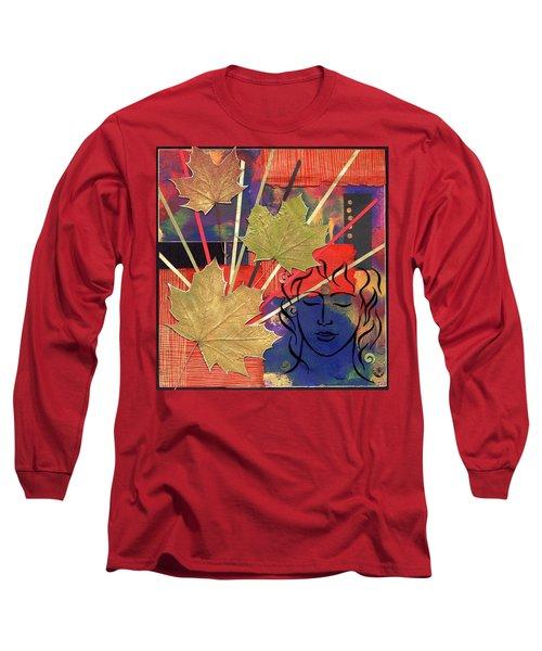 Michael The Angel Long Sleeve T-Shirt
