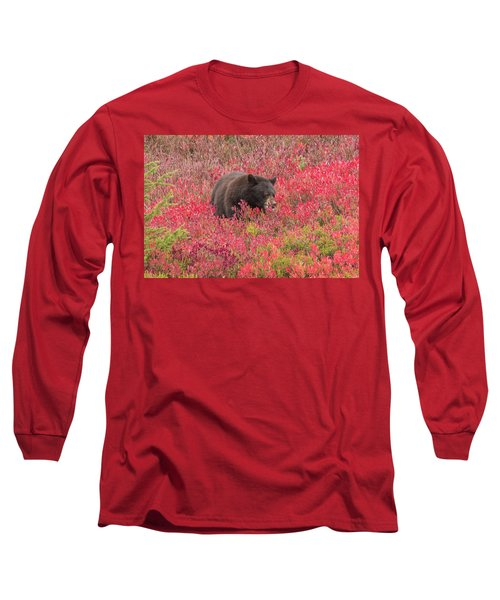 Berries For The Bear Long Sleeve T-Shirt