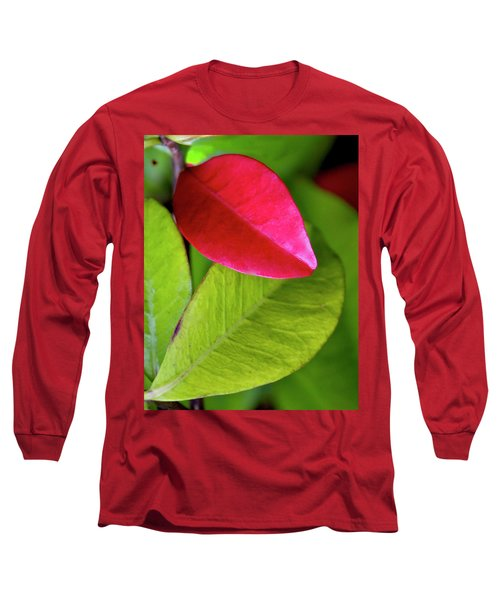 Colours. Red Long Sleeve T-Shirt