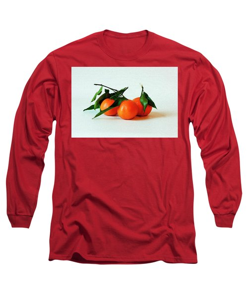 11--01-13 Studio. 3 Clementines Long Sleeve T-Shirt
