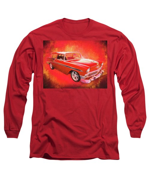 1956 Chevy Nomad Long Sleeve T-Shirt