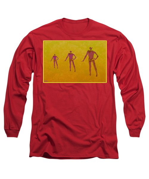 Male In Perspective Long Sleeve T-Shirt