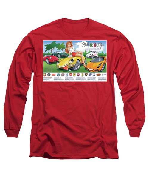 2018-2019 Atlanta Italian Car Day Poster Long Sleeve T-Shirt