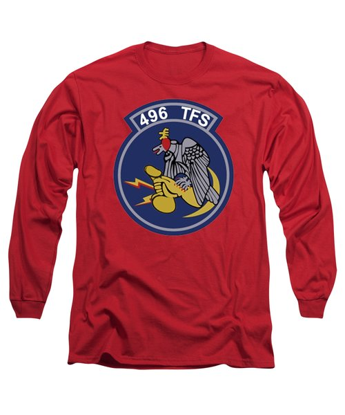 496th Tactical Fighter Squadron  Long Sleeve T-Shirt