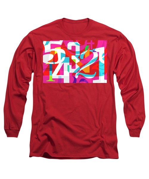 54321 Long Sleeve T-Shirt