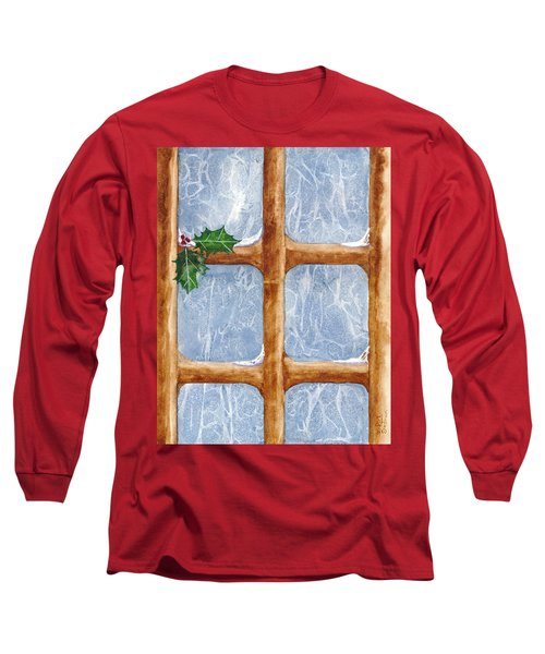 A Visit From Jack Frost Long Sleeve T-Shirt