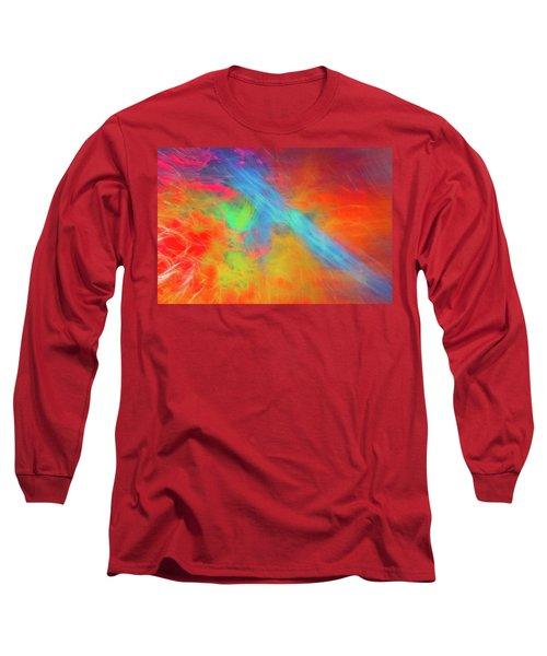 Abstract 51 Long Sleeve T-Shirt