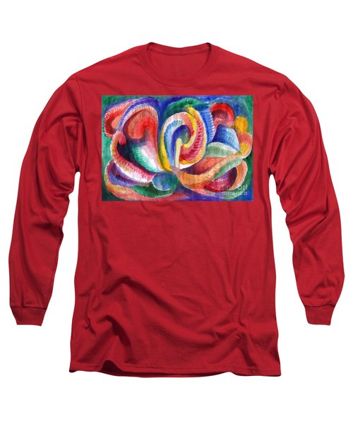 Abstraction Bloom Long Sleeve T-Shirt
