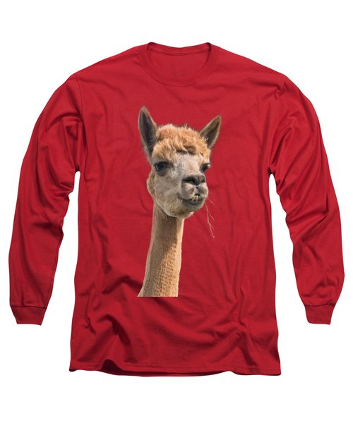 Alpaca Head Long Sleeve T-Shirt