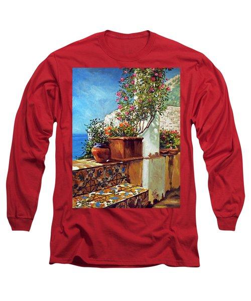 Amalfi Coast Impressions Long Sleeve T-Shirt