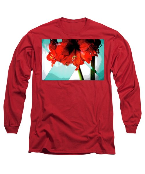 Amaryllis_poster Long Sleeve T-Shirt