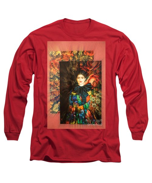 Artistic Frida Kahlo Stream  Long Sleeve T-Shirt