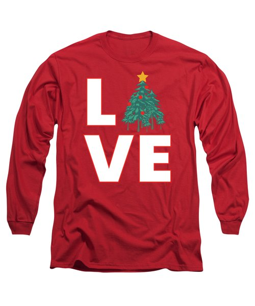 Love Christmas Long Sleeve T-Shirt