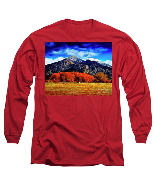 Autumn In Taos New Mexico Long Sleeve T-Shirt