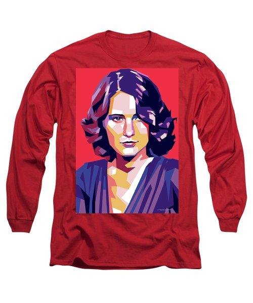 Barbara Stanwyck Long Sleeve T-Shirt