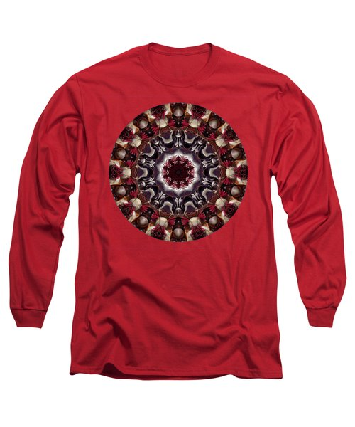 Beauty And The Beet A Kaleidoscope Of Beets Long Sleeve T-Shirt