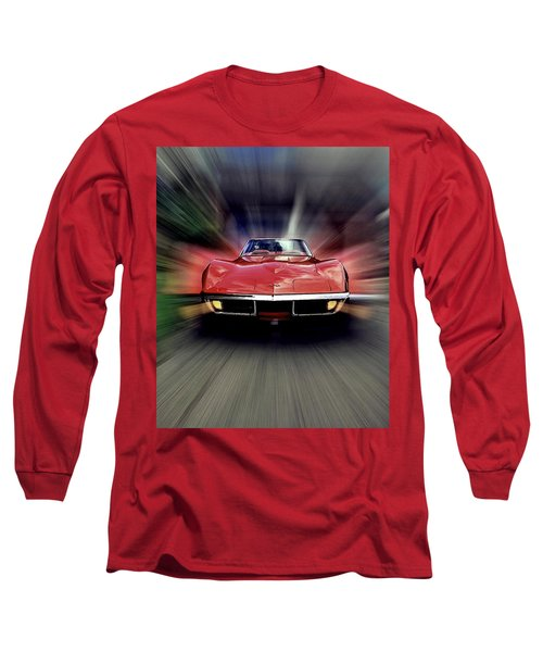 Big Red Long Sleeve T-Shirt