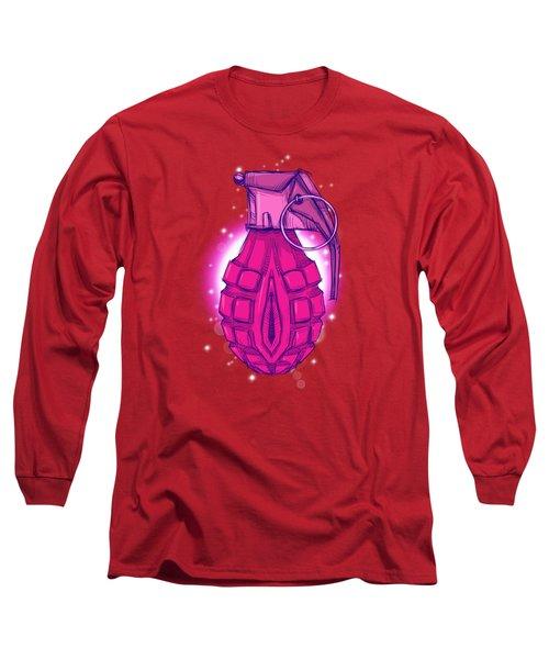 Bomb Pussy Long Sleeve T-Shirt