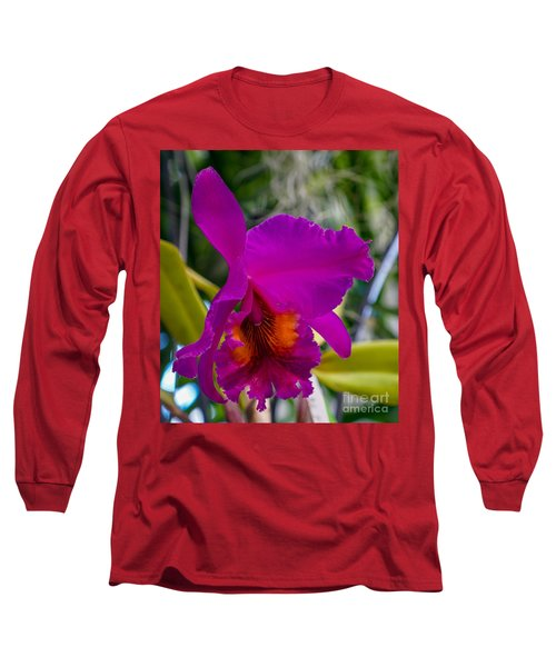 Brilliant Orchid Long Sleeve T-Shirt