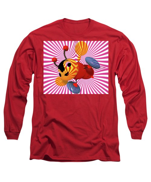 Buzzie Bee Icon Long Sleeve T-Shirt