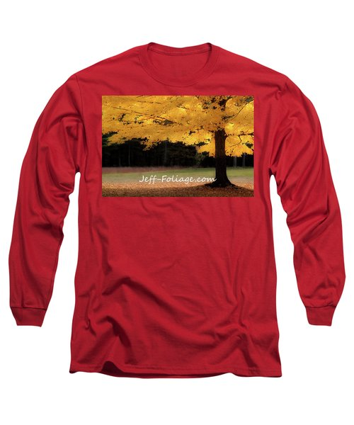 Canopy Of Gold Fall Colors Long Sleeve T-Shirt