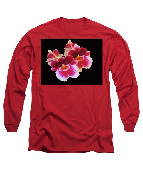 Canvas Violets Long Sleeve T-Shirt