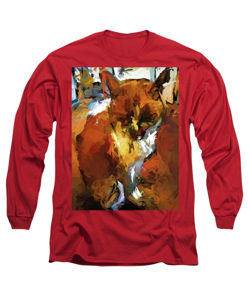 Cat In The Kitchen Long Sleeve T-Shirt