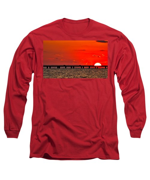 Causeway Sunset Long Sleeve T-Shirt