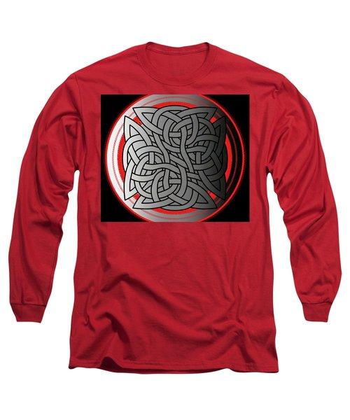 Celtic Shield Knot 4 Long Sleeve T-Shirt