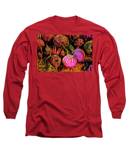 Chioggia Beets Long Sleeve T-Shirt