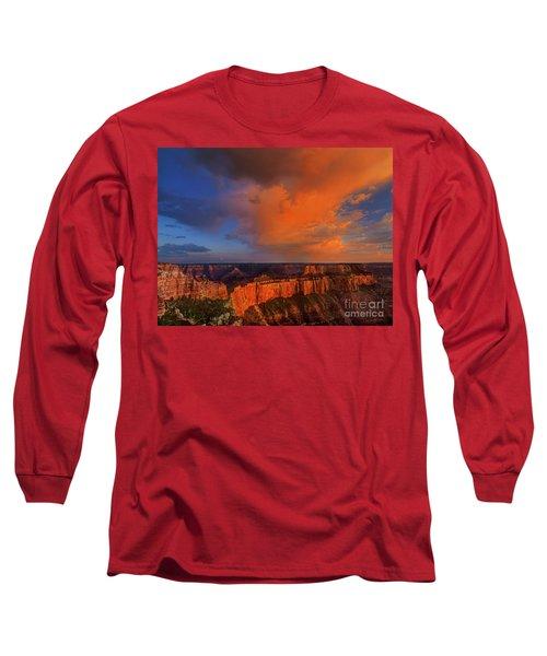 Clearing Storm Cape Royal North Rim Grand Canyon Np Arizona Long Sleeve T-Shirt
