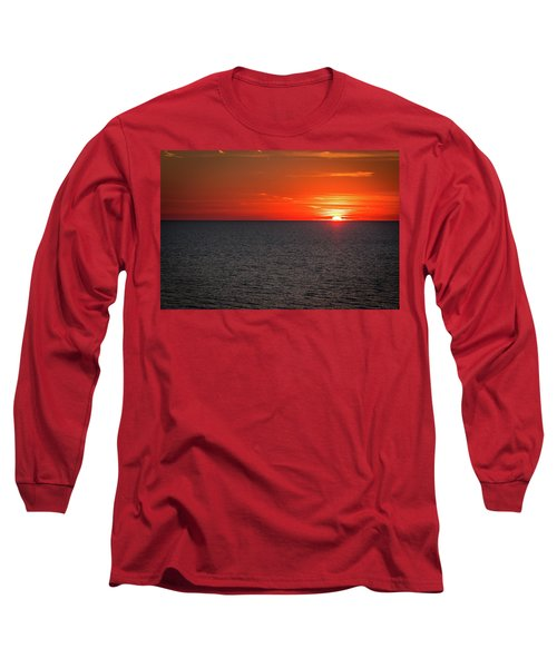 Clearwater Sunset Long Sleeve T-Shirt