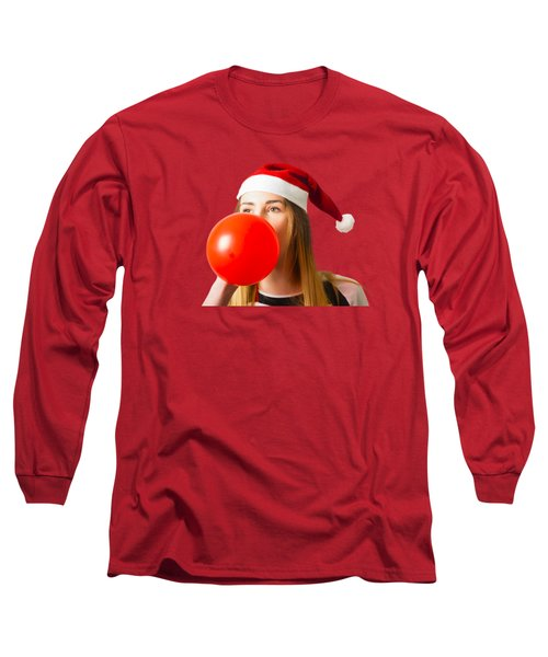 Cute Christmas Party Planner Long Sleeve T-Shirt