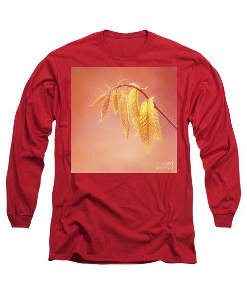 Delightful Baby Chestnut Leaves Long Sleeve T-Shirt