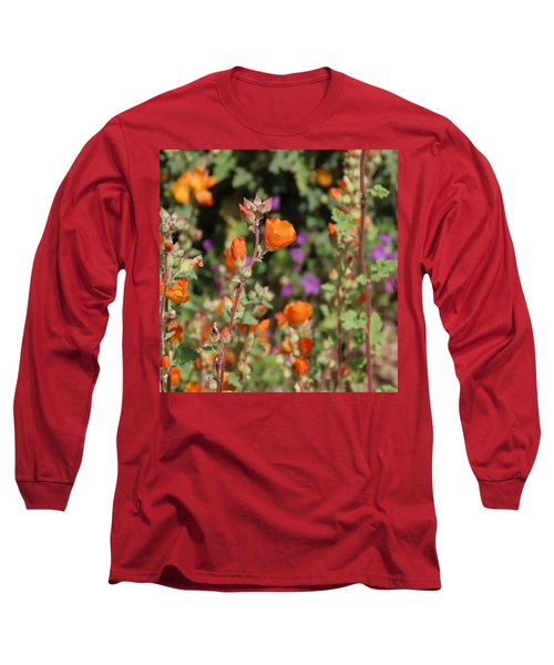 Desert Wildflowers Long Sleeve T-Shirt