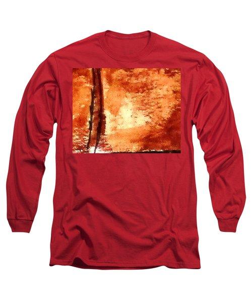 Digital Abstract No9. Long Sleeve T-Shirt