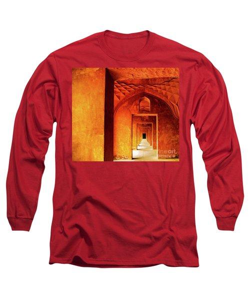 Doors Of India - Taj Mahal Long Sleeve T-Shirt